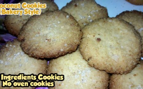 yt 253598 Coconut Cookies Without Oven How To Make Coconut Cookies Coconut Cookies Recipe Eggless 464x290 - Coconut Cookies Without Oven   How To Make Coconut Cookies   Coconut Cookies Recipe   Eggless