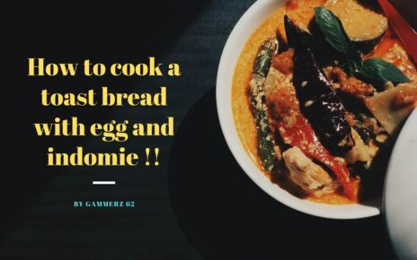 yt 253702 How to cook a toast bread with egg and indomie 464x290 - How to cook a toast bread with egg and indomie🍗🍔🍟🍕🍝