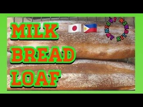 yt 253735 Milk Bread loaf Soft and Easy Step Baking - Milk Bread loaf  Soft and Easy Step Baking