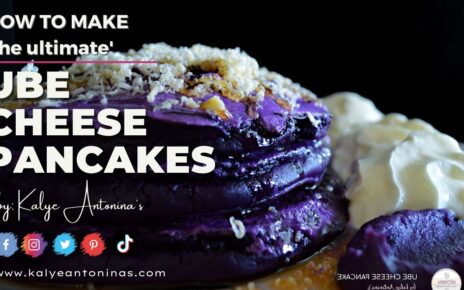 yt 253777 How to make UBE CHEESE PANCAKES The best pancakes ever 464x290 - How to make UBE CHEESE PANCAKES   The best pancakes ever!