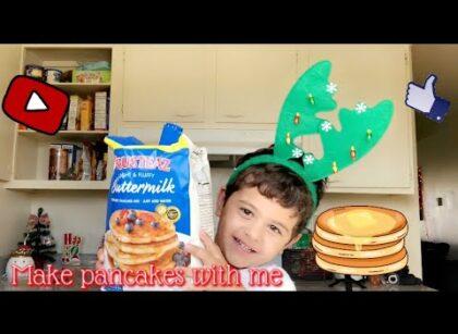 yt 253785 Carter Demonstrates How To Make Pancakes Vlogmas Day. 3 420x307 - Carter Demonstrates How To Make Pancakes 🎄⛄️   Vlogmas Day. 3
