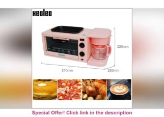 yt 261940 XEOLEO 3in1 Breakfast machine Coffee maker Household Electric Bake breadEgg tart oven Multifunct 322x230 - ✨ XEOLEO 3in1 Breakfast machine Coffee maker Household Electric Bake bread/Egg tart oven Multifunct