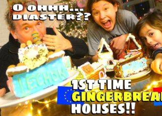 yt 261956 Family BAKE OFF Ginger Bread House Village Baking and decorating RodVivKids Family Vlog EUROPE 322x230 - Family BAKE OFF Ginger Bread House Village Baking and decorating 💖 RodVivKids Family Vlog EUROPE