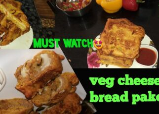 yt 262261 veggie cheesey bread pakoda How to make bread veg cheese pakoda starter snacks veg pakoda 322x230 - veggie cheesey bread pakoda| How to make bread veg cheese pakoda| starter snacks| veg pakoda🙂🤩🥗