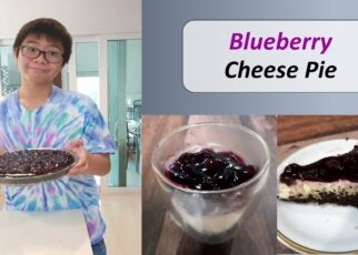 yt 262494 Bluberry cheese pie no bake  322x230 - Bluberry cheese pie (no bake) / บลูเบอรี่ชีสพาย