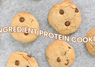 yt 262941 4 INGREDIENT CHOC CHIP PROTEIN COOKIES shorts 322x230 - 4 INGREDIENT CHOC CHIP PROTEIN COOKIES // #shorts
