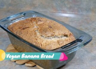 yt 263400 Vegan Banana Bread Baking Recipe Almost Oil Free Cook with me 322x230 - Vegan Banana Bread - Baking Recipe - Almost Oil Free - Cook with me