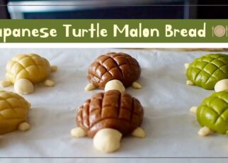 yt 263454 Homemade How to bake Japanese Turtle Melon Bread pan de meln  322x230 - [Homemade] How to bake Japanese Turtle Melon Bread/カメロンパン作り方/日式蜜瓜包/멜론 빵/pan de melón/तरबूज की रोटी।