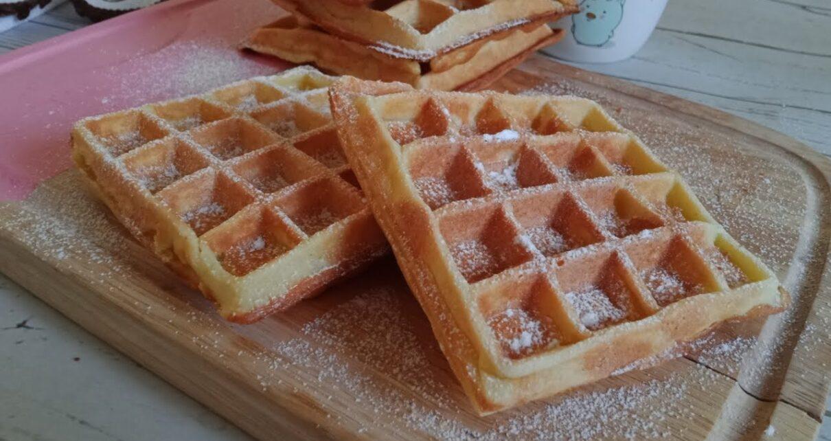 yt 263619 How to Make Perfect Homemade Waffles les gaufres I  1210x642 - How to Make Perfect Homemade Waffles (les gaufres) I اسهل طريقة لصنع الغوفر أو الوافل المنزلي