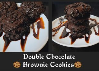 yt 263776 Double Chocolate Brownie Cookies How To Make Delicious Brownie Cookies Eggless Cookies 322x230 - Double Chocolate Brownie Cookies || How To Make Delicious Brownie Cookies || Eggless Cookies