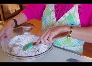 yt 263983 chocolate walnut banana bread bake at Lilys kitchen 322x230 - chocolate & walnut banana bread  bake at (Lily's kitchen)