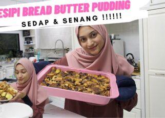 yt 264390 RESIPI BREAD BUTTER PUDDING Senang cepat sedap Bake with iffah 322x230 - RESIPI BREAD BUTTER PUDDING | Senang, cepat & sedap !!!! Bake with iffah