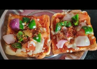 yt 265424 Bread Pizza without oven Instant Recipe Easy Recipe Cook with me Yash 322x230 - Bread Pizza without oven| Instant Recipe| Easy Recipe| Cook with me| Yash