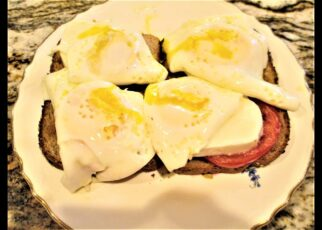 yt 265795 Toast Bread with Cheese and Sunny Side Up Eggs 322x230 - Toast Bread with  Cheese and Sunny Side Up Eggs.