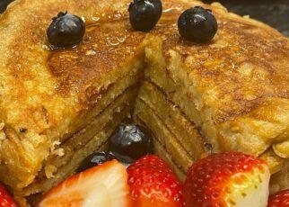 yt 265866 How To Make Pancake....Very Detailed Banana Peanut Butter Pancake Recipe 322x230 - How To Make Pancake....Very Detailed Banana & Peanut Butter Pancake Recipe