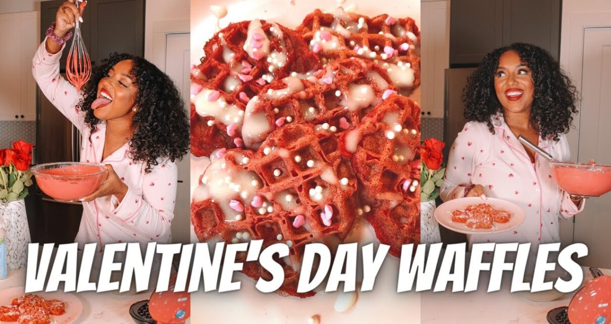 yt 271026 RED VELVET WAFFLES I VALENTINES DAY I COOKINGBAKING STEP BY STEP with a little SPICE LAUGHTER 1210x642 - RED VELVET WAFFLES I VALENTINE'S DAY I COOKING/BAKING STEP BY STEP with a little SPICE & LAUGHTER!!!