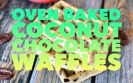 yt 271495 Oven Baked Coconut Chocolate Waffles 464x290 - Oven Baked Coconut Chocolate Waffles