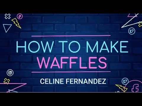 yt 271507 How to make Perfect Homemade Waffles Celine Cooks - How to make Perfect Homemade Waffles | Celine Cooks
