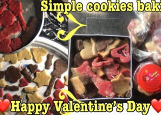 yt 271633 HAPPY VALENTINE DAY simple and easy cookies recipevalentine How to make cookies baking episode 1 322x230 - HAPPY VALENTINE DAY| simple and easy cookies recipe|#valentine |How to make cookies baking episode 1