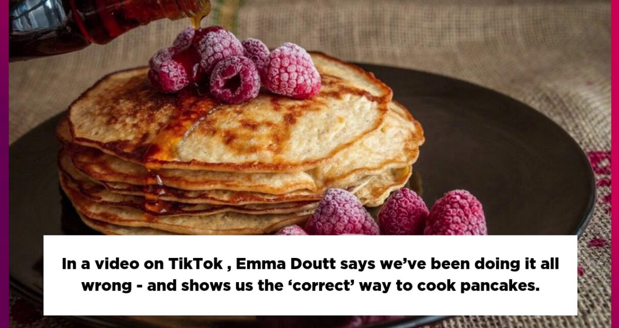 yt 271890 Woman claims weve all been cooking pancakes wrong this whole time 1210x642 - Woman claims we've all been cooking pancakes wrong this whole time