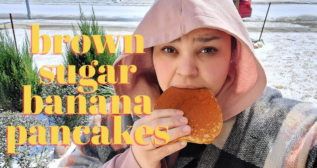 yt 271909 BROWN SUGAR BANANA PANCAKES Winter Freeze Power Outage Cooking Vlog Stay Warm My Friends 1210x642 - BROWN SUGAR BANANA PANCAKES | Winter Freeze Power Outage Cooking Vlog | Stay Warm My Friends